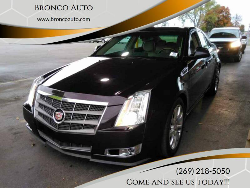 2008 Cadillac CTS for sale at Bronco Auto in Kalamazoo MI