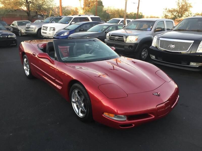 2004 Chevrolet Corvette for sale at JQ Motorsports in Tucson AZ