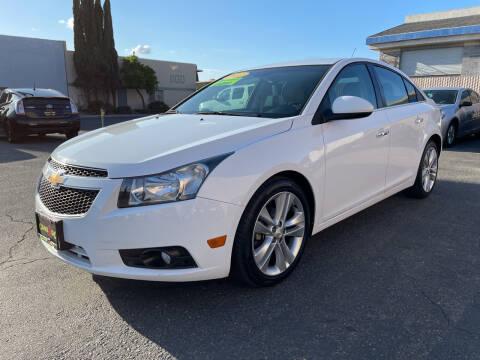 2012 Chevrolet Cruze for sale at Cars 2 Go in Clovis CA