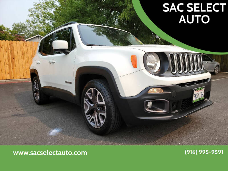 2015 Jeep Renegade for sale at SAC SELECT AUTO in Sacramento CA