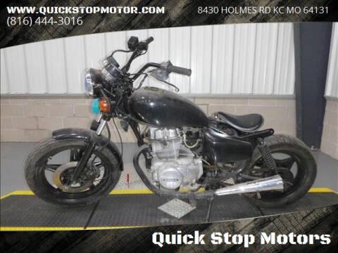 1980 Honda cm400 for sale at Quick Stop Motors in Kansas City MO