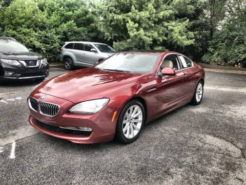 2012 BMW 6 Series for sale at CU Carfinders in Norcross GA