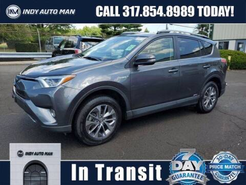 2018 Toyota RAV4 Hybrid for sale at INDY AUTO MAN in Indianapolis IN