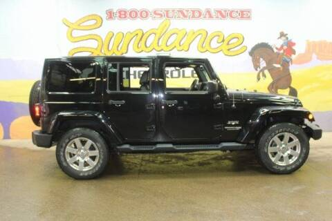 2018 Jeep Wrangler JK Unlimited for sale at Sundance Chevrolet in Grand Ledge MI
