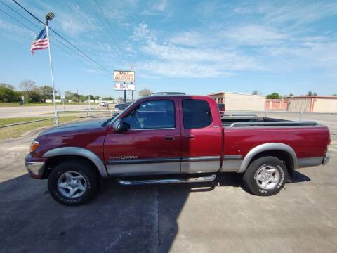 2002 Toyota Tundra for sale at BIG 7 USED CARS INC in League City TX