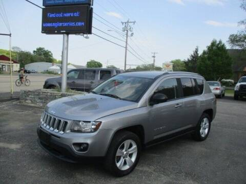 2016 Jeep Compass for sale at Mill Street Motors in Worcester MA