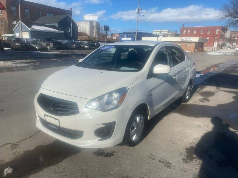 2017 Mitsubishi Mirage G4 for sale at Midtown Autoworld LLC in Herkimer NY