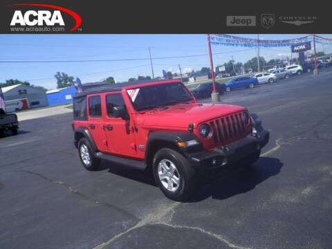 2018 Jeep Wrangler Unlimited for sale at BuyRight Auto in Greensburg IN
