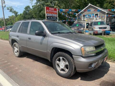 2007 Chevrolet TrailBlazer for sale at Korz Auto Farm in Kansas City KS