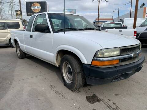 2003 Chevrolet S-10 for sale at Best Buy Quality Cars in Bellflower CA