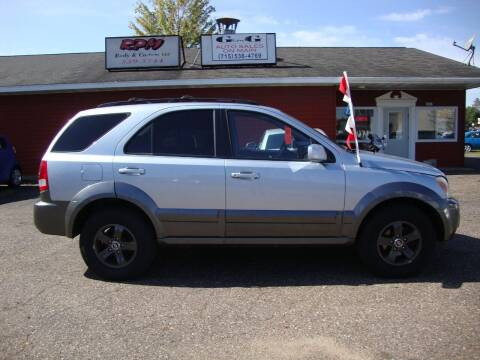 2005 Kia Sorento for sale at G and G AUTO SALES in Merrill WI