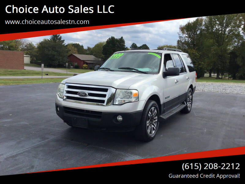 2007 Ford Expedition for sale at Choice Auto Sales LLC - Buy Here Pay Here in White House TN