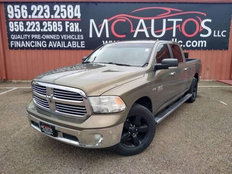 2015 RAM Ram Pickup 1500 for sale at MC Autos LLC in Pharr TX