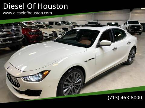 2018 Maserati Ghibli for sale at Diesel Of Houston in Houston TX