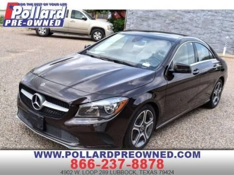 2018 Mercedes-Benz CLA for sale at South Plains Autoplex by RANDY BUCHANAN in Lubbock TX