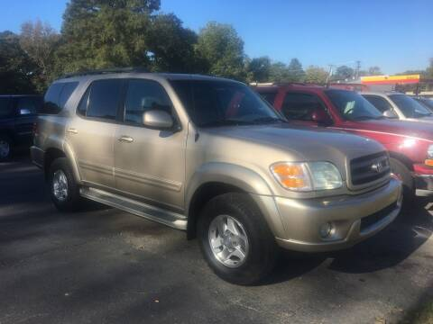 2004 Toyota Sequoia for sale at Tri-County Auto Sales in Pendleton SC