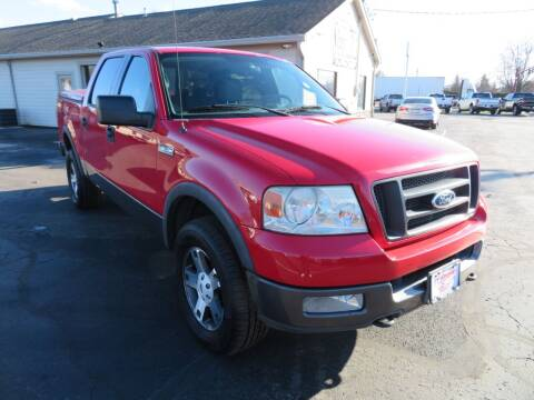 2004 Ford F-150 for sale at Tri-County Pre-Owned Superstore in Reynoldsburg OH