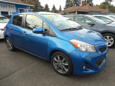 2013 Toyota Yaris for sale at Lino's Autos Inc in Vancouver WA