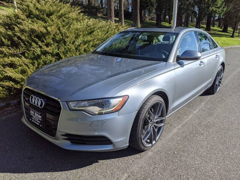 2013 Audi A6 for sale at All Star Automotive in Tacoma WA