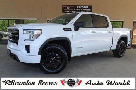 2020 GMC Sierra 1500 for sale at Brandon Reeves Auto World in Monroe NC