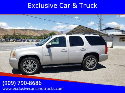 2007 GMC Yukon for sale at Exclusive Car & Truck in Yucaipa CA
