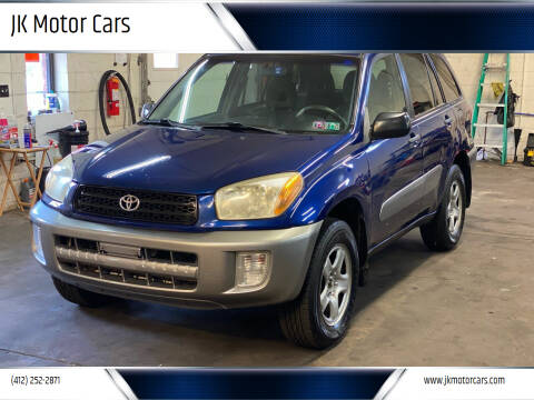 2003 Toyota RAV4 for sale at JK Motor Cars in Pittsburgh PA