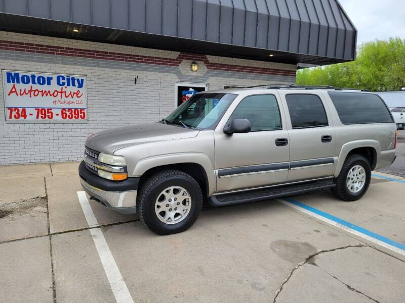 2003 Chevrolet Suburban for sale at Motor City Automotive of Michigan in Flat Rock MI