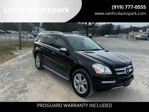 2010 Mercedes-Benz GL-Class for sale at Sanford Autopark in Sanford NC