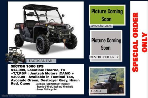 2020 HISUN SECTOR 1000 for sale at JENTSCH MOTORS in Hearne TX