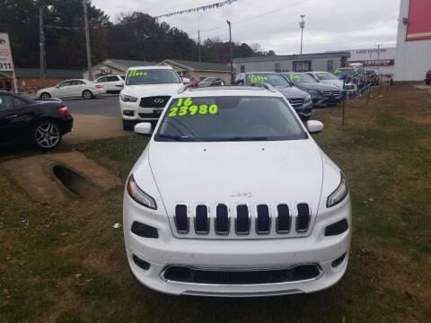 2016 Jeep Cherokee for sale at AUTOPLEX 528 LLC in Huntsville AL