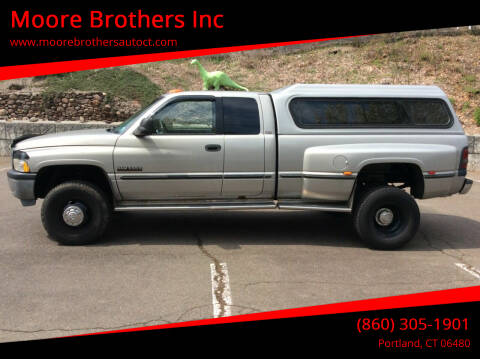1999 Dodge Ram Pickup 3500 for sale at Moore Brothers Inc in Portland CT