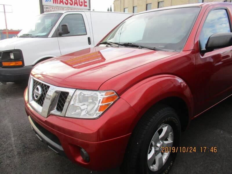 2012 Nissan Frontier for sale at Atlantic Motors in Chamblee GA