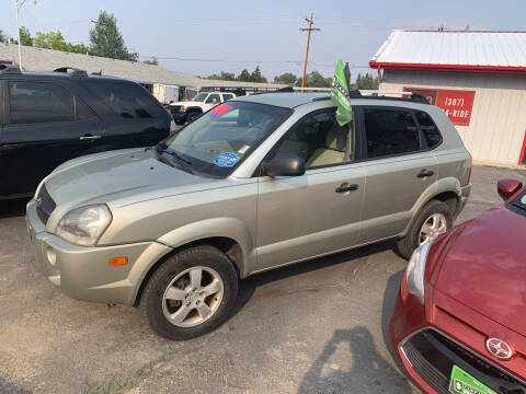 2007 Hyundai Tucson for sale at Buyers Guide in Buffalo WY