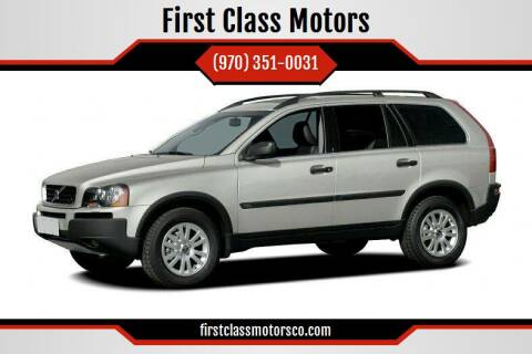 2005 Volvo XC90 for sale at First Class Motors in Greeley CO