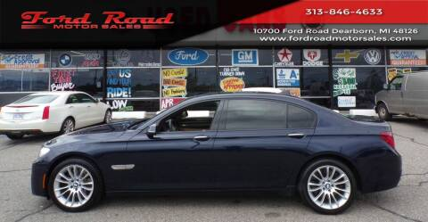 2014 BMW 7 Series for sale at Ford Road Motor Sales in Dearborn MI