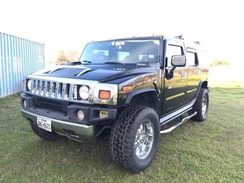 2005 HUMMER H2 for sale at LA PULGA DE AUTOS in Dallas TX