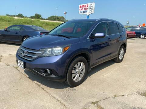2013 Honda CR-V for sale at MARLER USED CARS in Gainesville TX