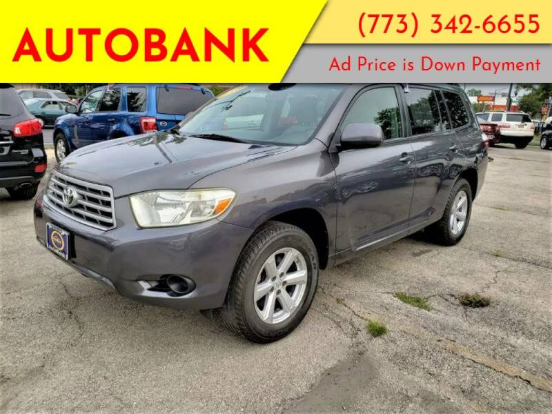 2008 Toyota Highlander for sale at AutoBank in Chicago IL