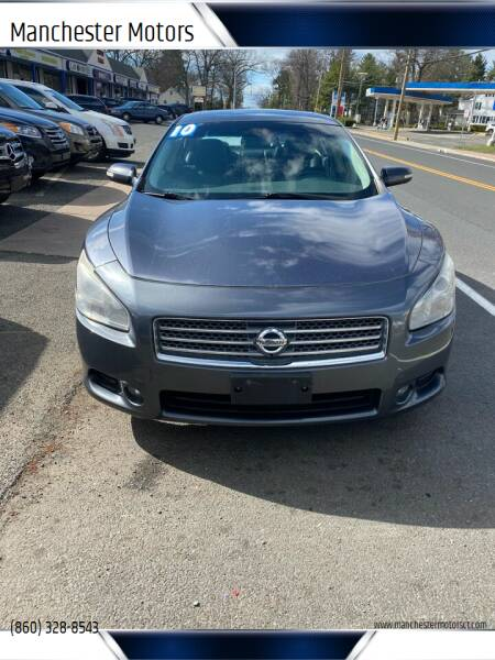 2010 Nissan Maxima for sale at Manchester Motors in Manchester CT