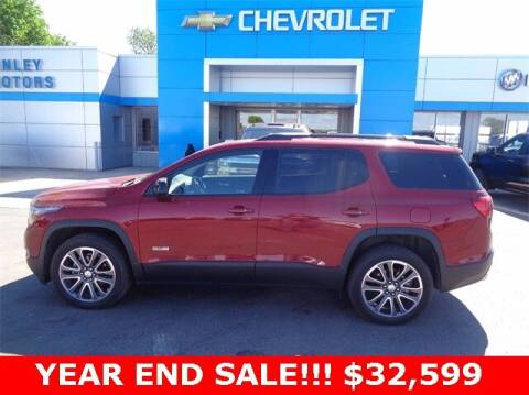 2019 GMC Acadia for sale at Finley Motors in Finley ND