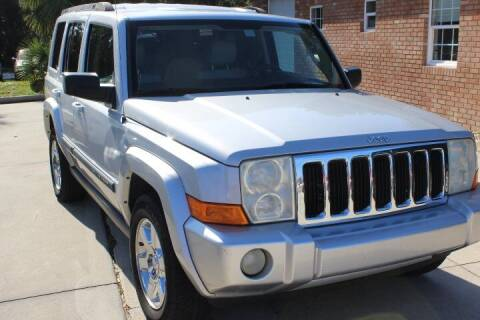 2008 Jeep Commander for sale at MITCHELL AUTO ACQUISITION INC. in Edgewater FL