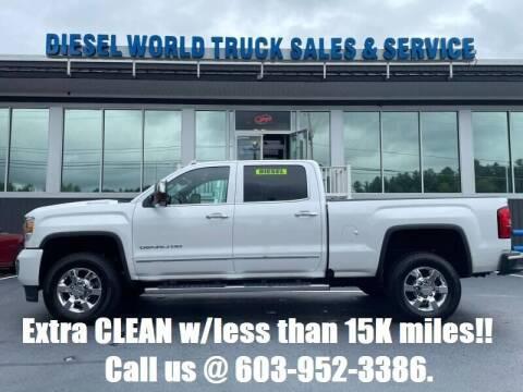2019 GMC Sierra 3500HD for sale at Diesel World Truck Sales in Plaistow NH