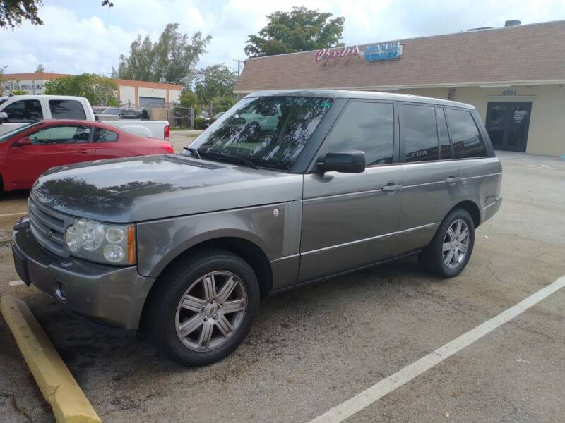 2008 Land Rover Range Rover for sale at LAND & SEA BROKERS INC in Pompano Beach FL