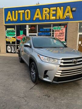 2019 Toyota Highlander for sale at Auto Arena in Fairfield OH