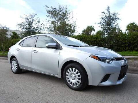 2014 Toyota Corolla for sale at SUPER DEAL MOTORS 441 in Hollywood FL