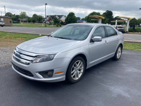 2012 Ford Fusion for sale at McCully's Automotive - Under $10,000 in Benton KY
