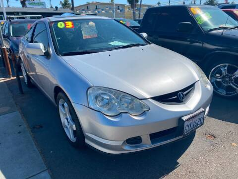 2003 Acura RSX for sale at North County Auto in Oceanside CA