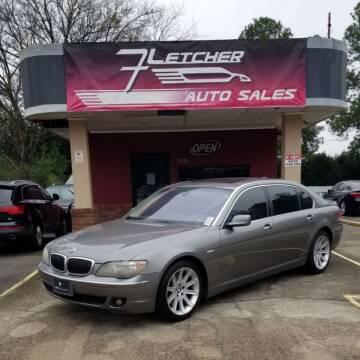 2006 BMW 7 Series for sale at Fletcher Auto Sales in Augusta GA