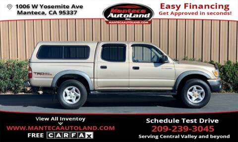 2001 Toyota Tacoma for sale at Manteca Auto Land in Manteca CA