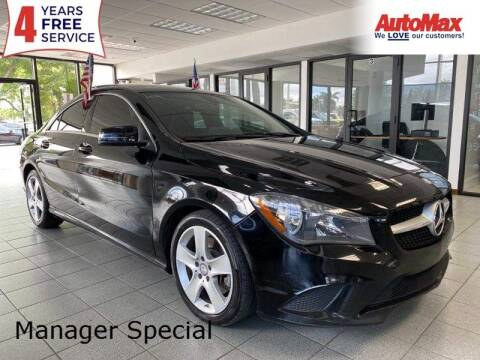 2016 Mercedes-Benz CLA for sale at Auto Max in Hollywood FL